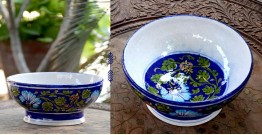 Azur ᴥ Blue Pottery Bowl ᴥ 13