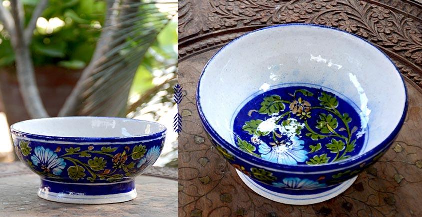 Azur ᴥ Blue Pottery Bowl ᴥ 13