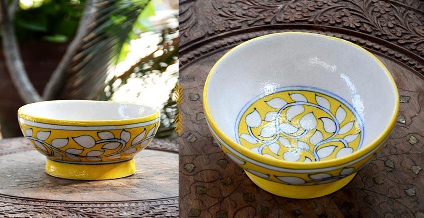 Azur ᴥ Blue Pottery Bowl ᴥ 14