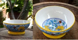 Azur ᴥ Blue Pottery Bowl ᴥ 15