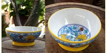 Azur ᴥ Blue Pottery Bowl ᴥ 15