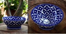 Azur ᴥ Blue Pottery Bowl ᴥ 16