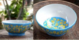 Azur ᴥ Blue Pottery Bowl ᴥ 21