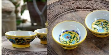 Azur ᴥ Blue Pottery Bowl (set of two) ᴥ 23