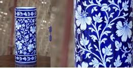 Azur ᴥ Blue Pottery Cylinder Vase ᴥ 31