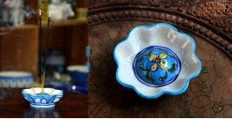 Azur ᴥ Blue Pottery Incense Holder ᴥ 34