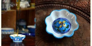 Azur ᴥ Blue Pottery Incense Holder ᴥ 34