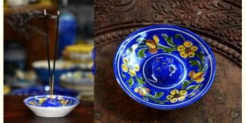 Azur ᴥ Blue Pottery Incense Holder ᴥ 36