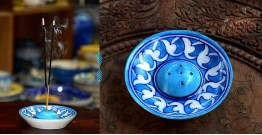 Azur ᴥ Blue Pottery Incense Holder ᴥ 37