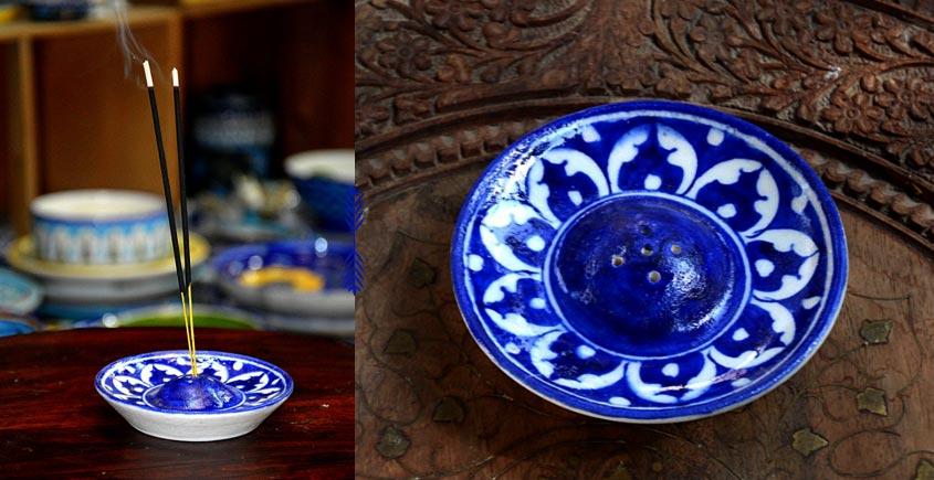 Azur ᴥ Blue Pottery Incense Holder ᴥ 38