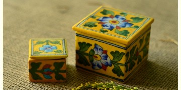 Azure ~ Yellow Box (set of two)