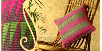 Chizami weaves: Cushion cover (12X12) ~ 10