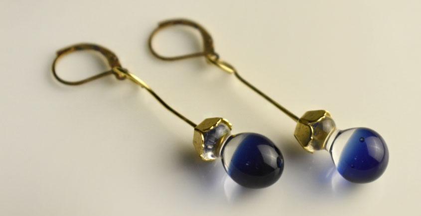 Zeenat ✤ Glass Jewellery ✤ Earring ~ 35
