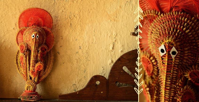 Dhaana Murti ~ Ganesha (Red IV)