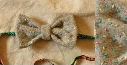 Cherubic ❄ Felt Sprinkle Bow Tie ❄ 10