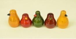 Etikoppaka ⛄ Penguin ⛄ 1 { set of 5 }