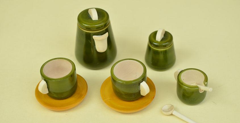 Etikoppaka ⛄ Tea sets ⛄ 7