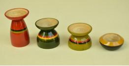 Etikoppaka ⛄ Tea Light Candle Holders ⛄ 11 { set of 4 }