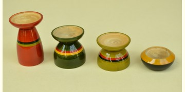Etikoppaka ⛄ Tea Light Candle Holders ⛄ 11 { set of 4 }