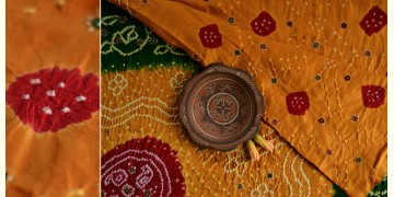 Village Trail { Bandhani * Gajji Silk } J