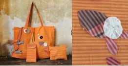 Koi ⚹ Cotton Cotton Bag . Pouch . Mobile Pouch ⚹ 7