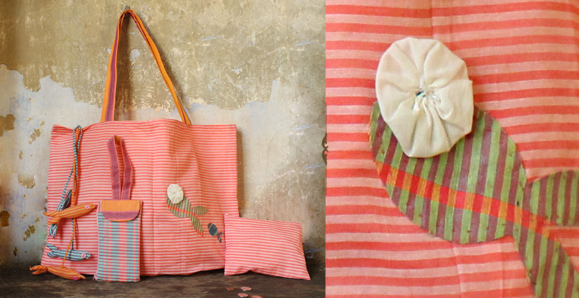 Koi ⚹ Cotton Bag . Pouch . Mobile Pouch ⚹ 8