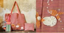 Koi ⚹ Cotton Bag . Pouch . Mobile Pouch ⚹ 10