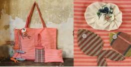 Koi ⚹ Cotton Bag . Pouch . Mobile Pouch ⚹ 12