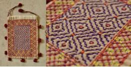 Treasure Trove ♠ Embroidered Drawstring Pouch ~ 13