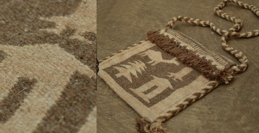 Maaldhari village (Handwoven woolen bag)