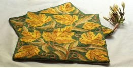 A Garden To Keep ✽ Aari Embroidered Cushion ✽ 4 { Set of 2 }