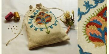 A Garden To Keep ✽ Aari Embroidered . Potli ✽ 25