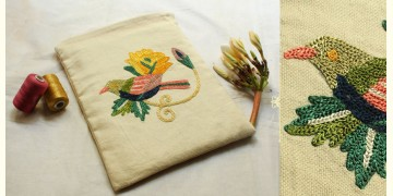 """I-Pad Cotton Aari Embroidered Cover ( 10.5"""" ) ✽ 21"""