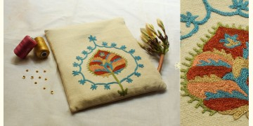 A Garden To Keep ✽ Aari Embroidered . Pouch ✽ 19