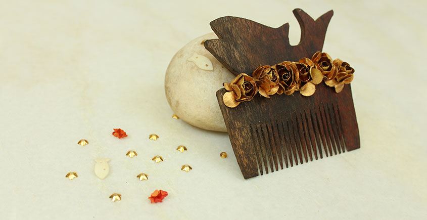 A Garden To Keep ✽ Wooden Comb ✽ 11