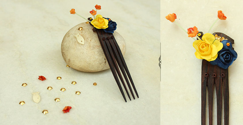 A Garden To Keep ✽ Wooden Comb ✽ 12