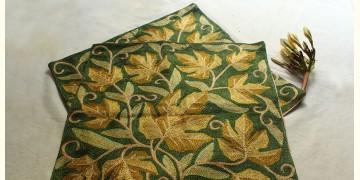 A Garden To Keep ✽ Aari Embroidered Cushion ✽ 7 { Set of 2 }