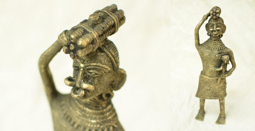 Ormolu ✺ Dhokra Tribal Women { 2 }