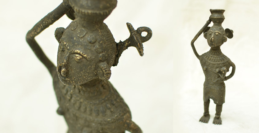 Ormolu ✺ Dhokra Tribal Women { 5 }