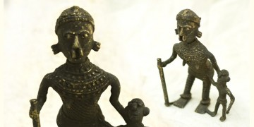 Ormolu ✺ Dhokra Tribal Women { 6 }