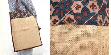 Getting carried away ~ Handmade Jute bag ~ 1