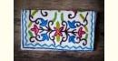 Aari-work Kashmir ~ Hand clutches (Blue)