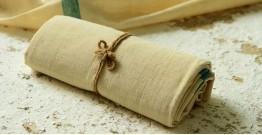 Swavalamban ◉ Handwoven ◉ Cotton single bedsheet 1