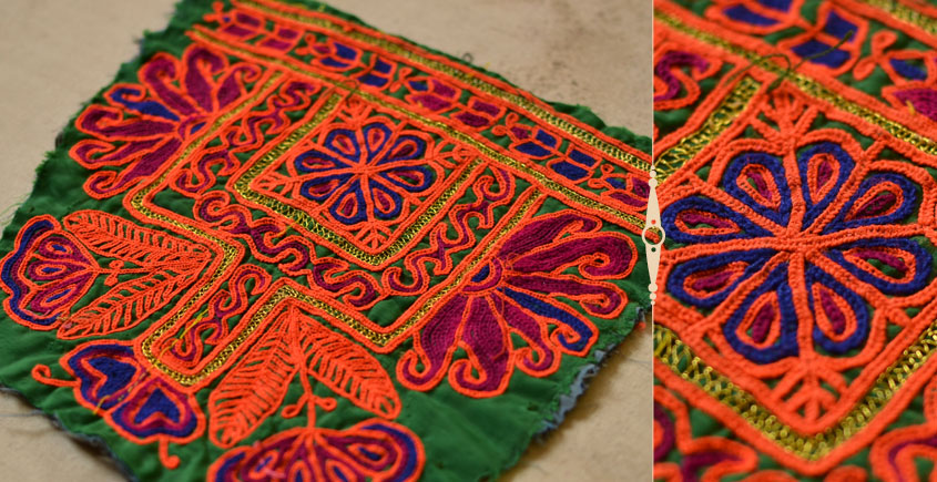Pieces of Sindh ❂ Hand Embroidered Antique Pieces ❂ 38