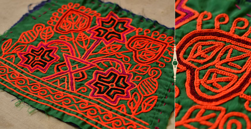 Pieces of Sindh ❂ Hand Embroidered Antique Pieces ❂ 44