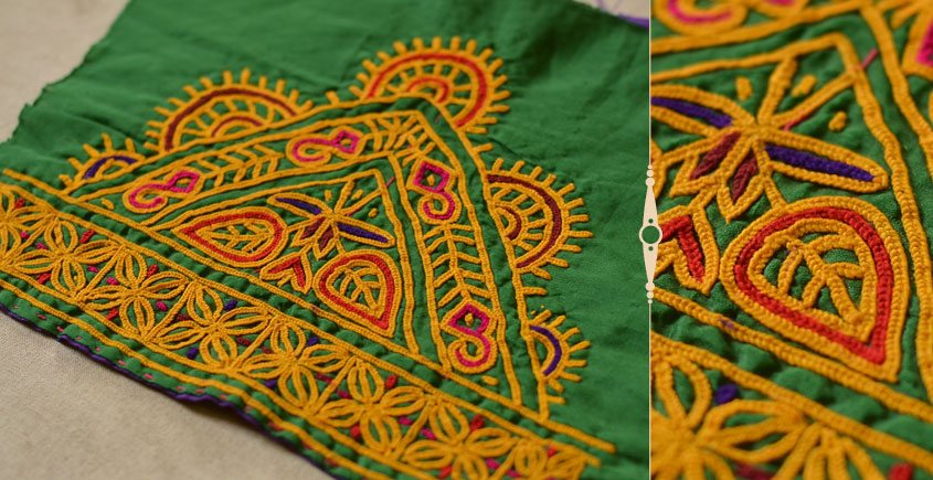 Pieces of Sindh ❂ Hand Embroidered Antique Pieces ❂ 47