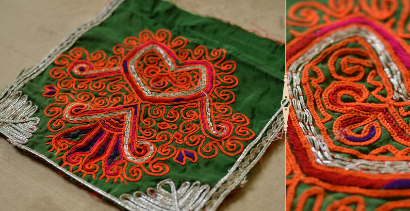 Pieces of Sindh ❂ Hand Embroidered Antique Pieces ❂ 53