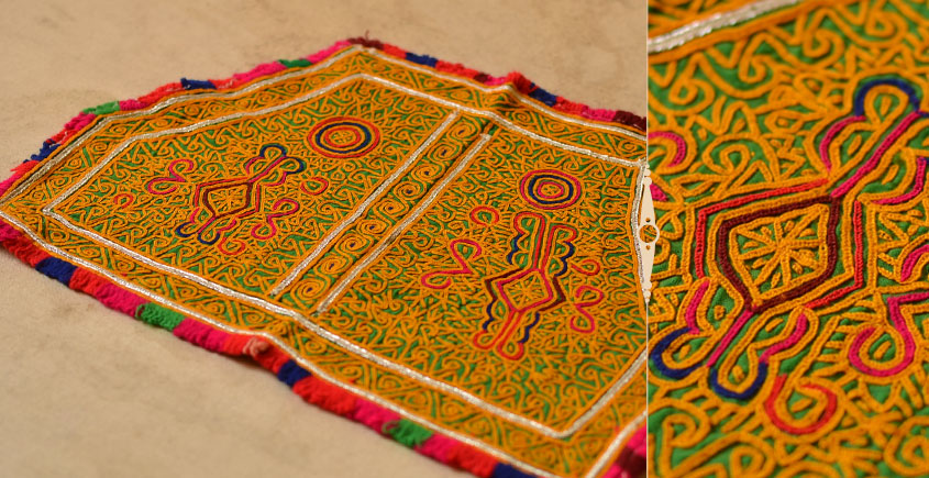 Pieces of Sindh ❂ Hand Embroidered Antique Pieces ❂ 6