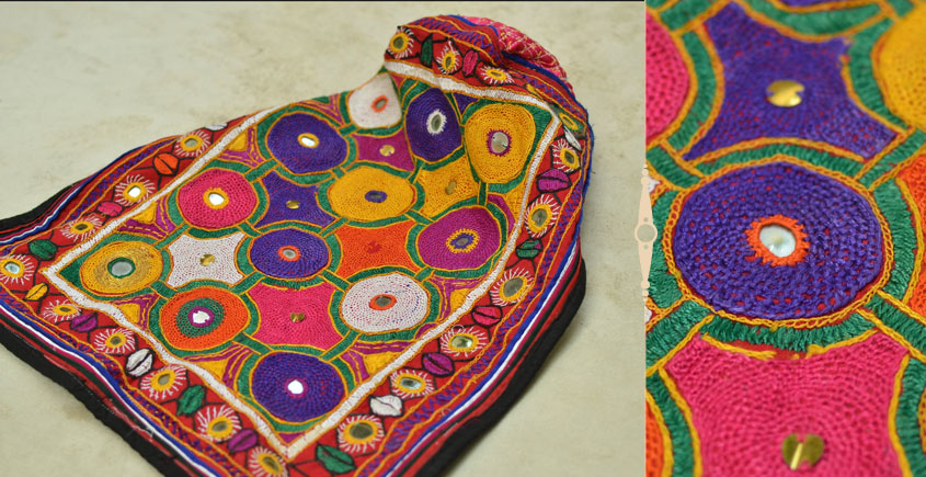 Pieces of Sindh ❂ Hand Embroidered Cap ❂ 93
