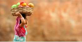 गुड़ियावाला ❤ Clay Dolls ❤  Vegetable seller C